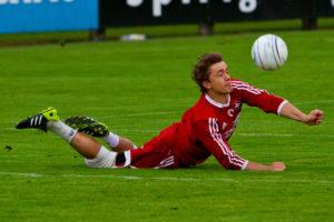 Faustball  Länderspiel Deutschland - Schweiz